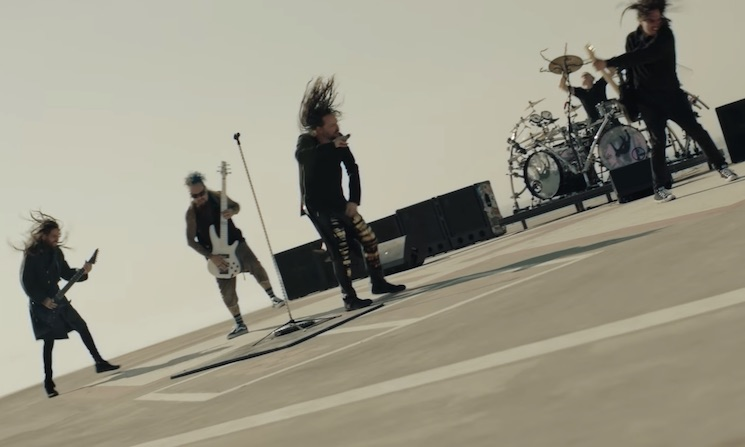 Korn's Nü Music Video Is a Collaboration with a Mobile Game Called 'World of Tanks Blitz'