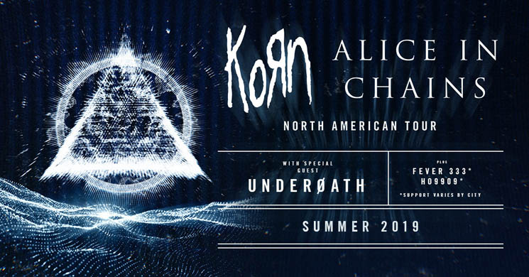 ​Korn and Alice in Chains Unveil Summer North American Tour