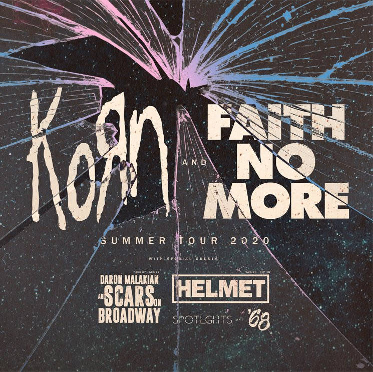 Korn and Faith No More Unveil Co-Headlining Tour