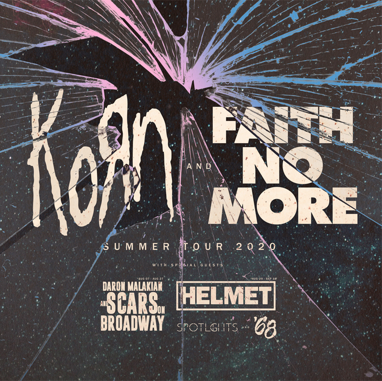 Korn and Faith No More Have Officially Cancelled Their Summer Tour