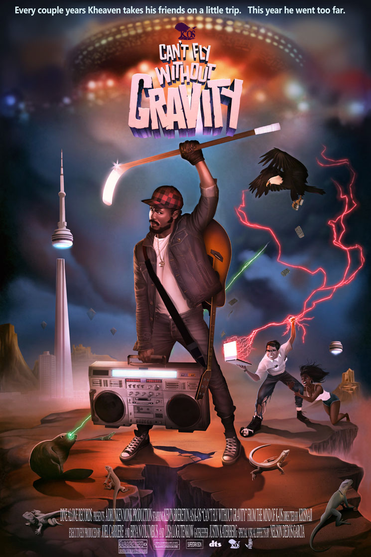 K-os Unveils 'Can't Fly Without Gravity' LP