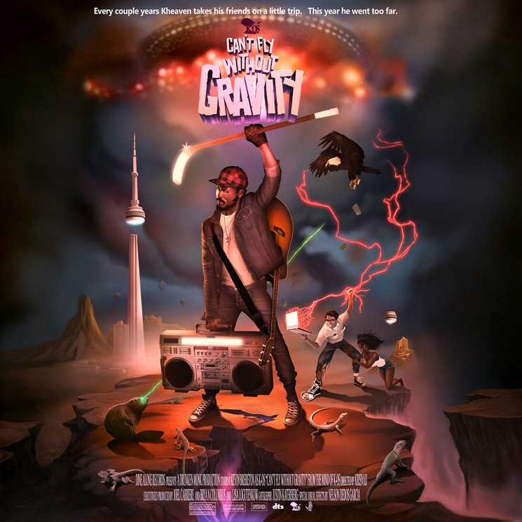 K-os 'Can't Fly Without Gravity' (album stream)