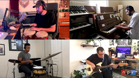 Watch the Kount Play a Tiny Desk Home Concert with Carrtoons, Kaelin Ellis and Kiefer