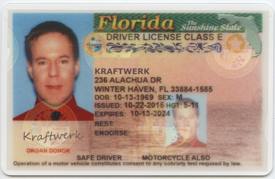 Florida Man Legally Changes Name to Kraftwerk
