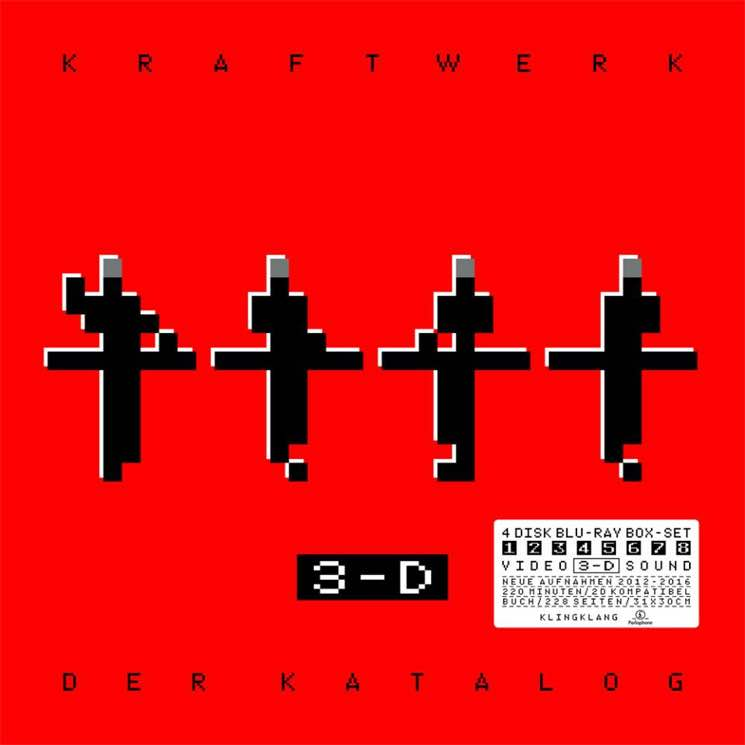 Kraftwerk Announce Massive Live Compilation and 3D Concert Film