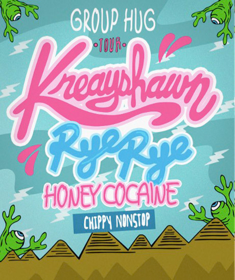 "Kreayshawn Announces Canada-Heavy ""Group Hug"" Tour with Rye Rye"