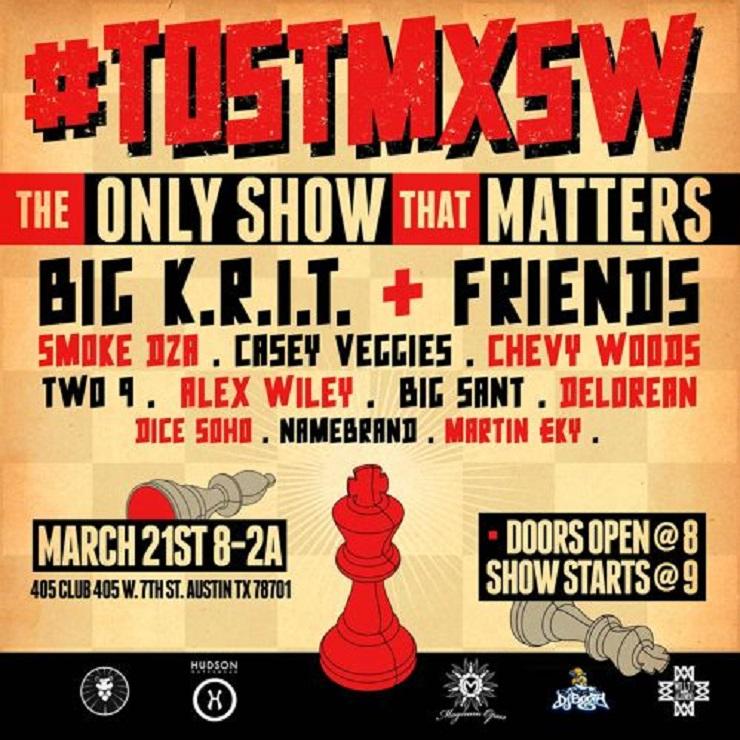 Big K.R.I.T. 'B4SXSW'