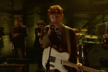"King Krule ""A Lizard State"" (live on 'Conan')"
