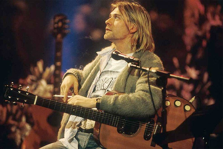 Here's Why Some Dude Is Selling Kurt Cobain's Stinky Old Cardigan