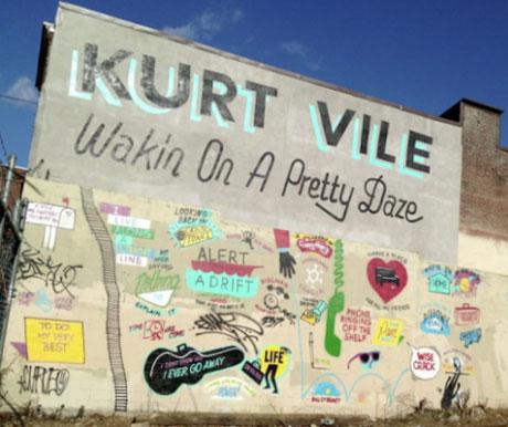 Kurt Vile Announces New Album via Mural in Philadelphia