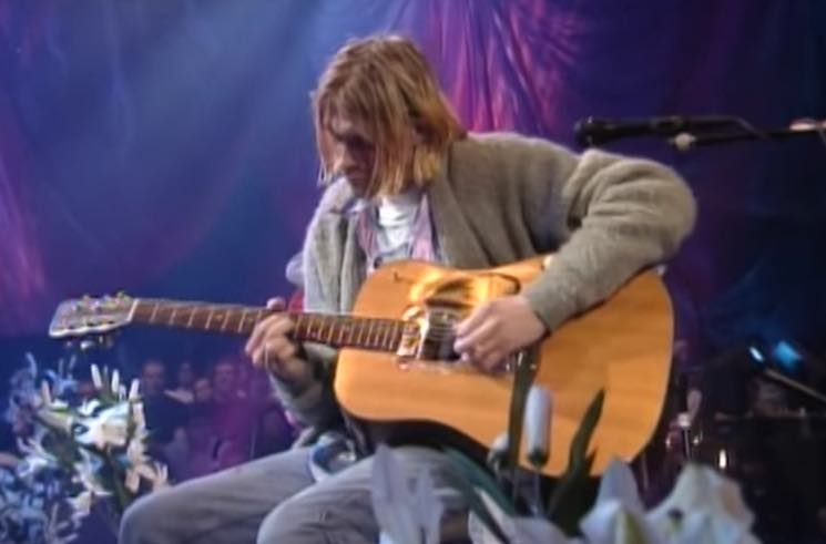 Kurt Cobain's 'Unplugged' Guitar Is Heading to Auction