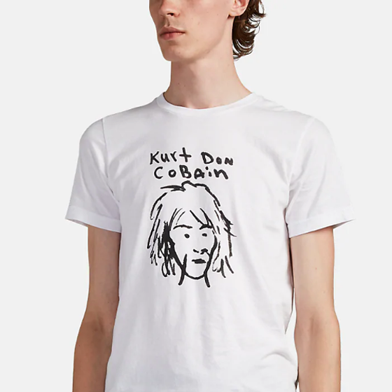 A New Kurt Cobain Clothing Line Features $113 T-shirts