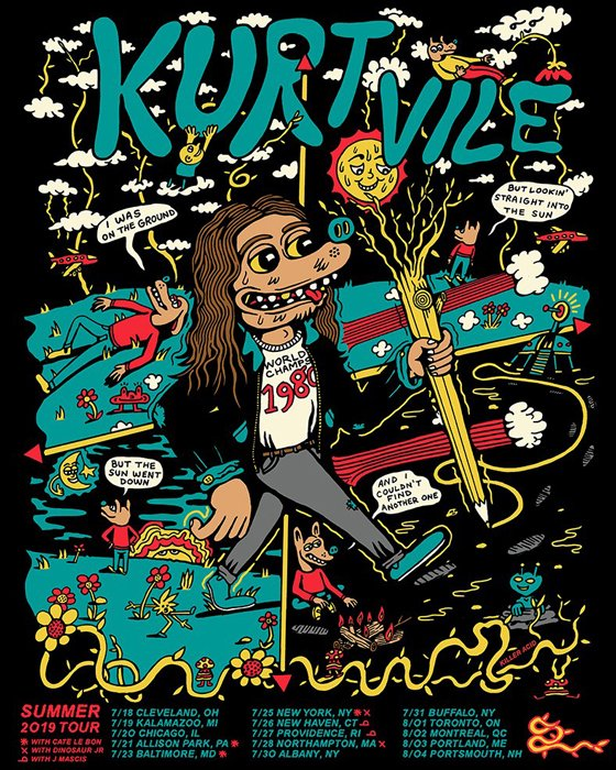 Kurt Vile to Play Canada on Summer Tour