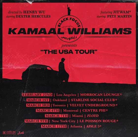 Kamaal Williams Maps Out North American Tour