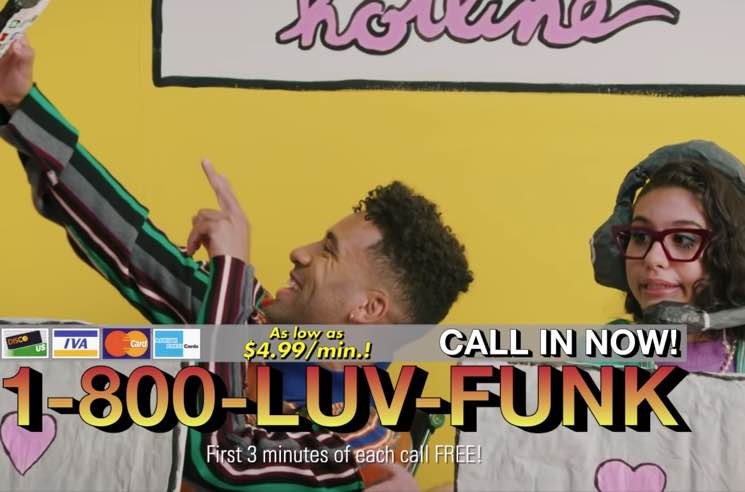 KYLE and Alessia Cara Operate a Love Hotline in 'Babies' Video