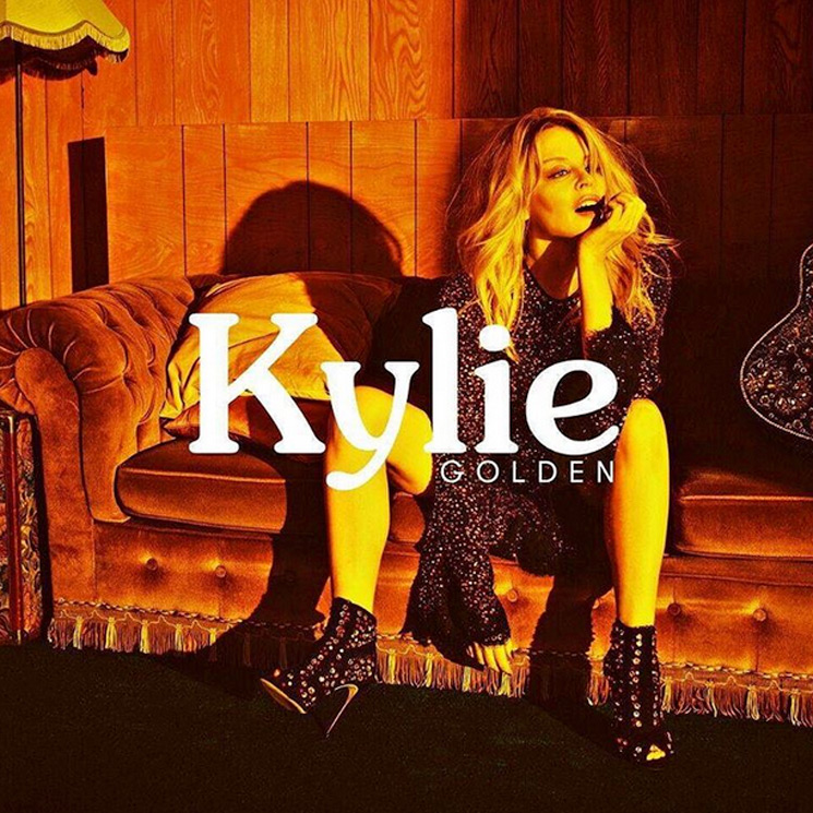 "Kylie Minogue Returns with Her First 'Golden' Single ""Dancing"""