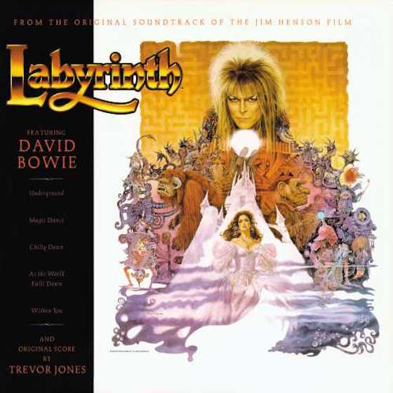 David Bowie's 'Labyrinth' Soundtrack to Receive Vinyl Reissue