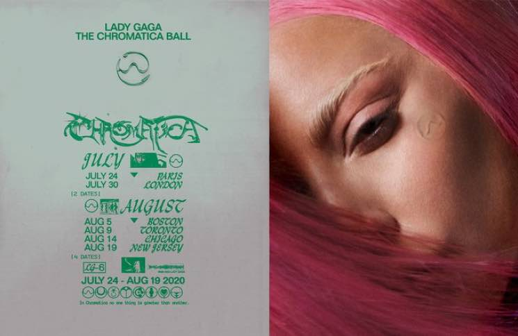 "​Lady Gaga Is Bringing ""The Chromatica Ball"" Tour to Toronto"