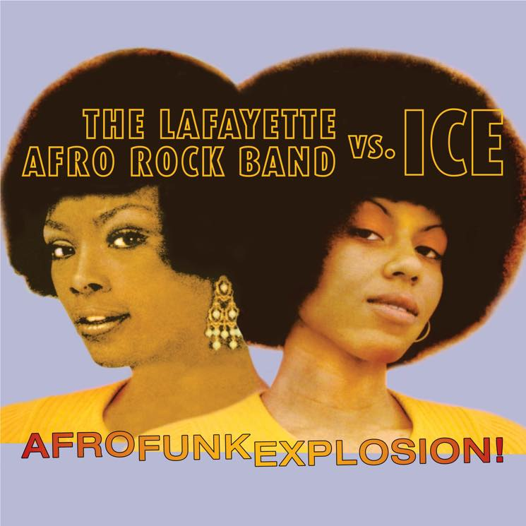 Lafayette Afro Rock Band vs. Ice AfroFunkExplosion!