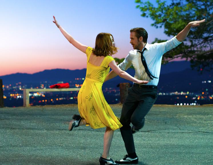 La La Land Directed by Damien Chazelle