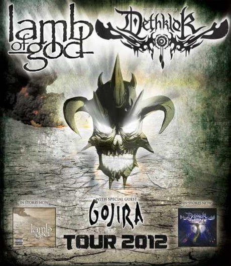 Lamb of God Forced to Cancel North American Tour with Dethklok