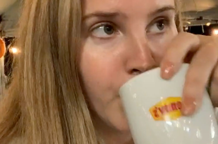 Lana Del Rey Used Election Night to Announce a New Album from a Denny's