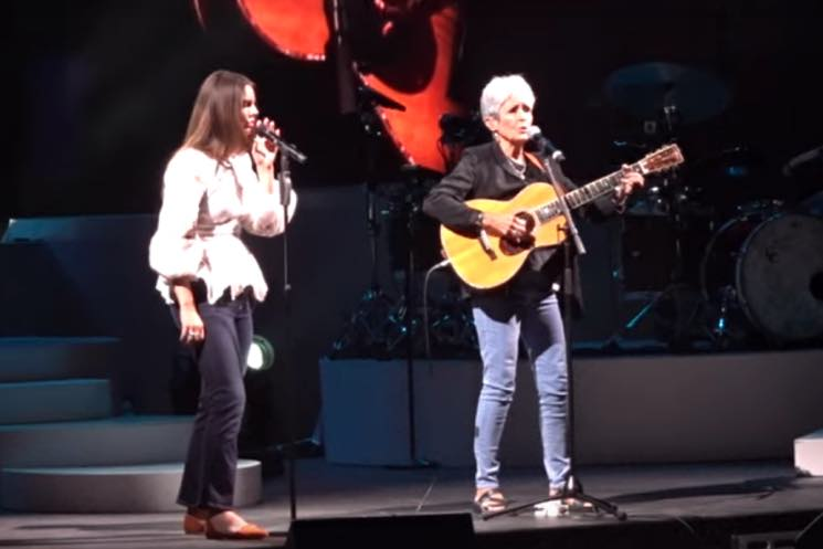 Watch Lana Del Rey Bring Out Joan Baez in Berkeley