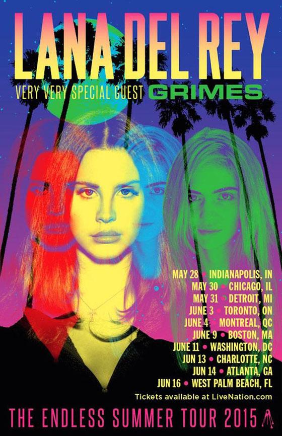 Grimes Joins Lana Del Rey's 'Endless Summer' Tour
