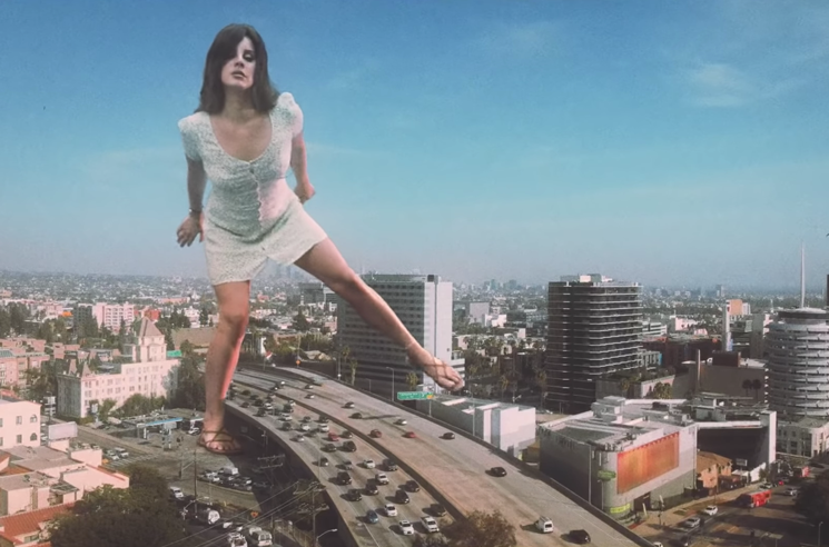 "Lana Del Rey Is Larger Than Life in Her ""Doin' Time"" Video"