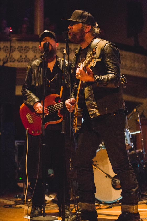 ​Daniel Lanois / Rocco DeLuca Alix Goolden Hall, Victoria BC, March 3