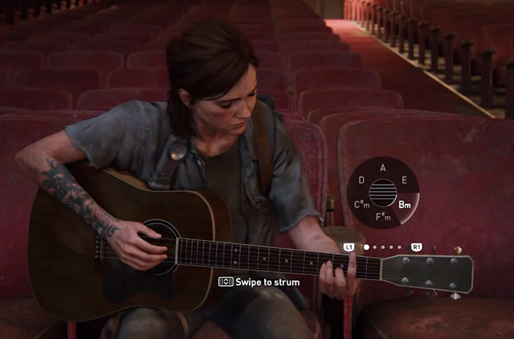 Gamers Are Covering Rock's Biggest Names in 'The Last of Us Part II'