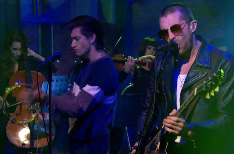 The Last Shadow Puppets Bring 'Bad Habits' to 'Meyers'