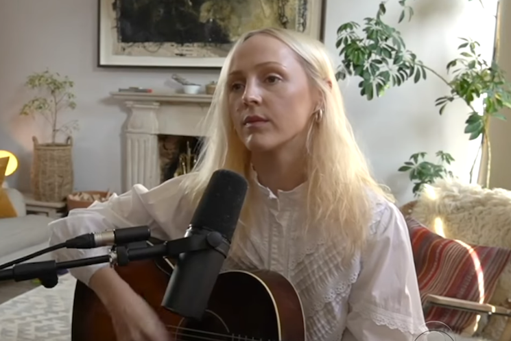 Watch Laura Marling Perform 'Held Down' on 'The Late Show'