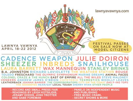 Lawnya Vawnya Fest Brings the Inbreds, Cadence Weapon, Julie Doiron to St. John's