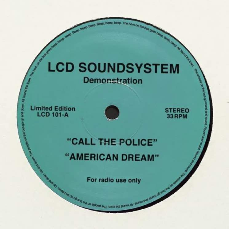 "LCD Soundsystem Share ""Call the Police"" and ""American Dream"""