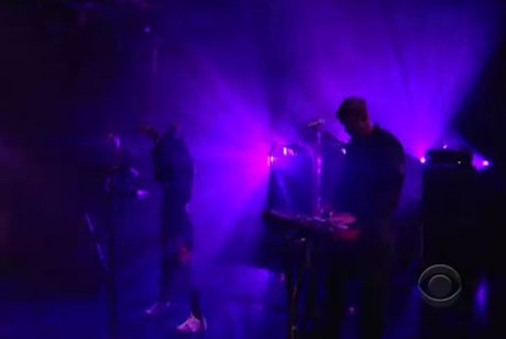 Little Dragon 'Klapp Klapp' (live on 'Letterman')