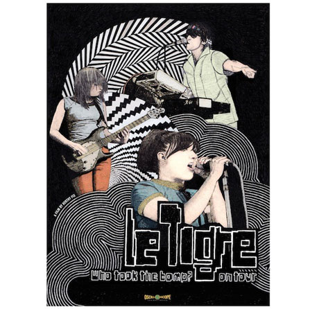 Le Tigre Tour Documentary Coming to DVD