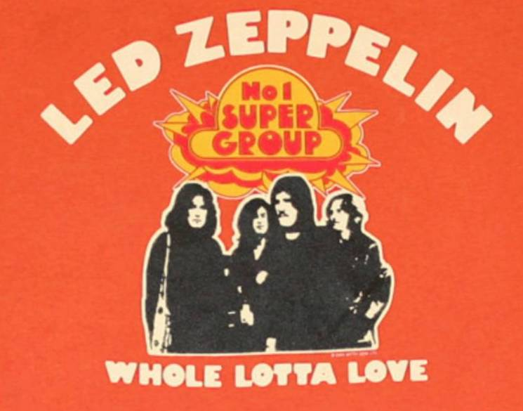 Led Zeppelin's 'Whole Lotta Love' Has the 'Greatest Riff of All Time,' According to a New Poll