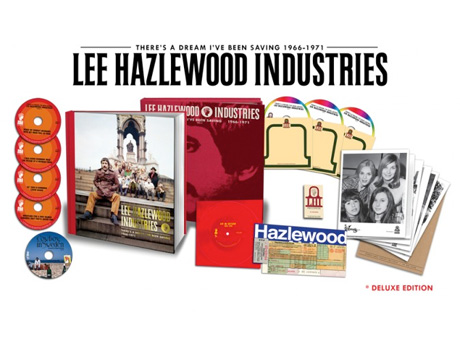 Lee Hazlewood Treated to Gigantic Retrospective Box Set via Light in the Attic