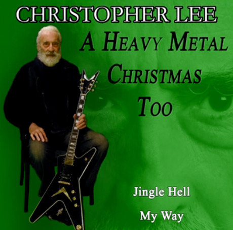 Christopher Lee Delivers New Heavy Metal Christmas Single