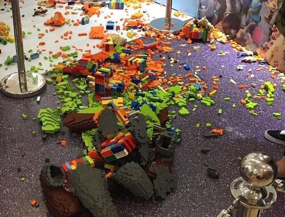 Young Boy Destroys $20,000 'Zootopia' Sculpture at LEGO Expo