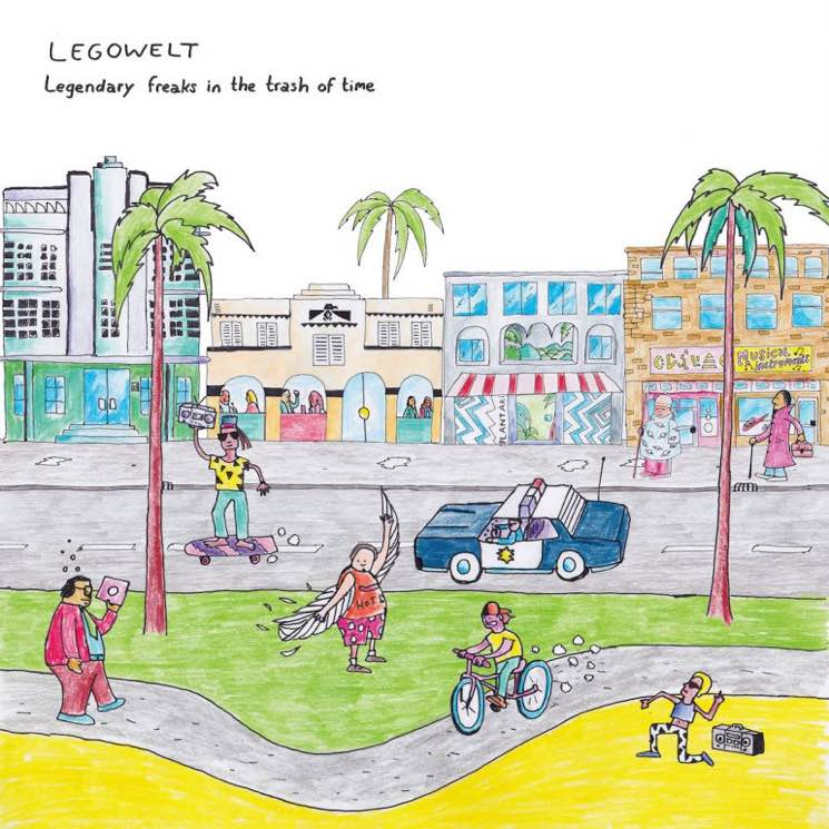 Legowelt Legendary Freaks in the Trash of Time