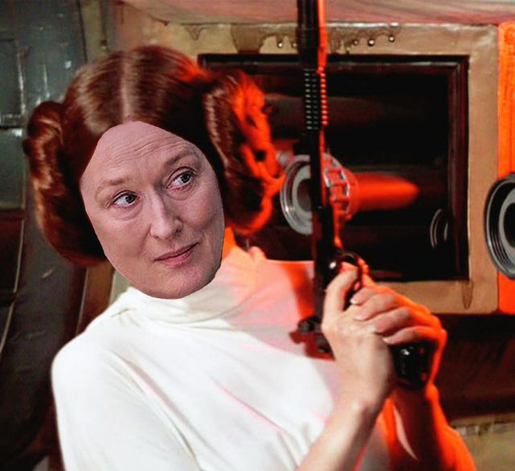 'Star Wars' Fans Want Meryl Streep to Play Princess Leia