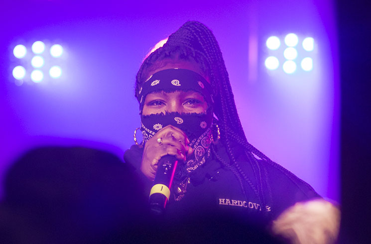 Leikeli47 / Yung Baby Tate Velvet Underground, Toronto ON, March 25