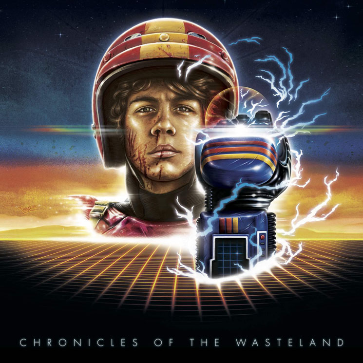 Le Matos 'Chronicles of the Wasteland' / 'Turbo Kid OST' (album streams)