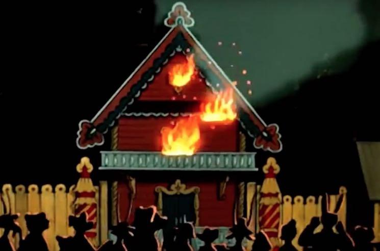 """Lemon Bucket Orkestra Offshoot Balaklava Blues Premiere """"Fire"""" Video"""
