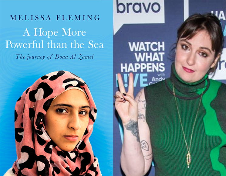 Lena Dunham Is Writing a Syrian Refugee Movie