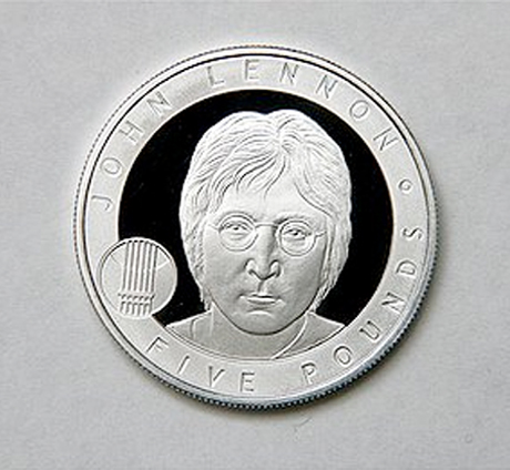 John Lennon Celebrated Via New Coin
