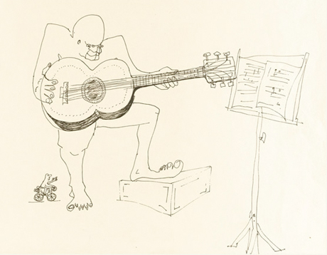 John Lennon's Writings and Drawings Go for Big Bucks at Auction