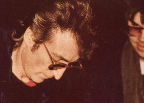 Mark David Chapman's Autographed John Lennon LP Goes Up for Sale